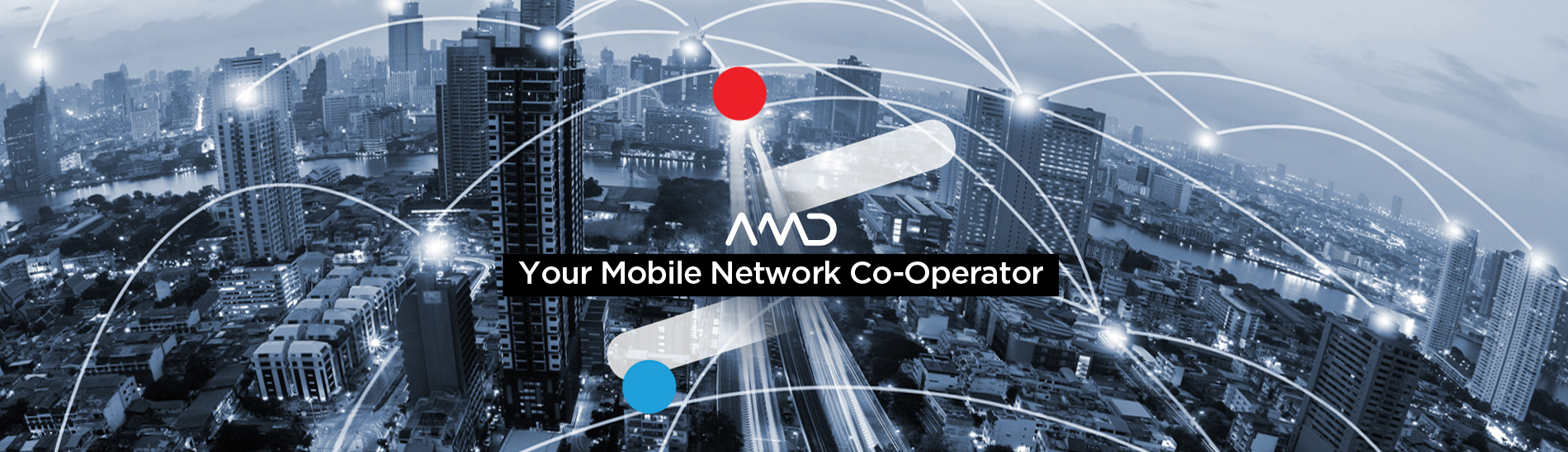 AMD Telecom S A  - Your Mobile Network Co-Operator -Homepage