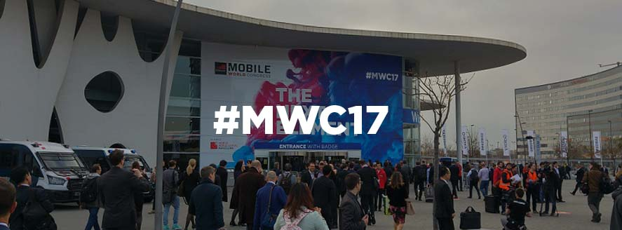 Very excited and vitalized by our double participation at MWC and 4YFN 2017!