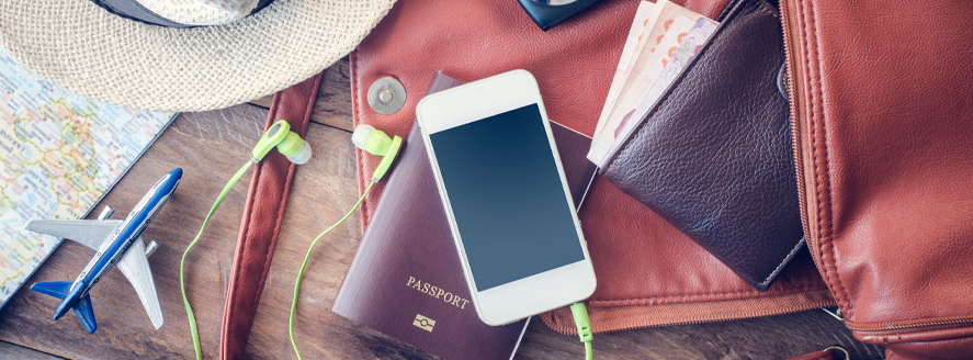 Where are you flying to? Plan your trip and your roaming.